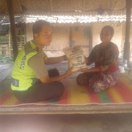 Website Gumantar Bentuk Kepedulian Bimaspol Hairul Taufik Desa Warga Dusun