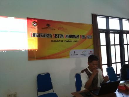 Website Gumantar Lokarya Sistem Informasi Desa Sid Kab Lombok Utara