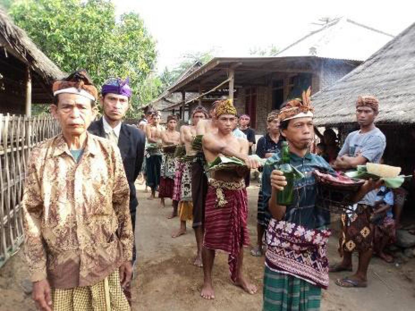 Website Gumantar Wisata Adat Desa Kab Lombok Utara
