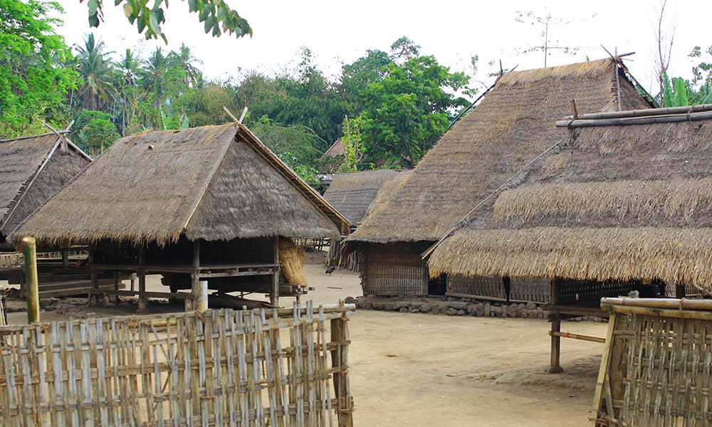 Wisata Budaya Lombok Utara Dasan Beleq Desa Gumantar Kab