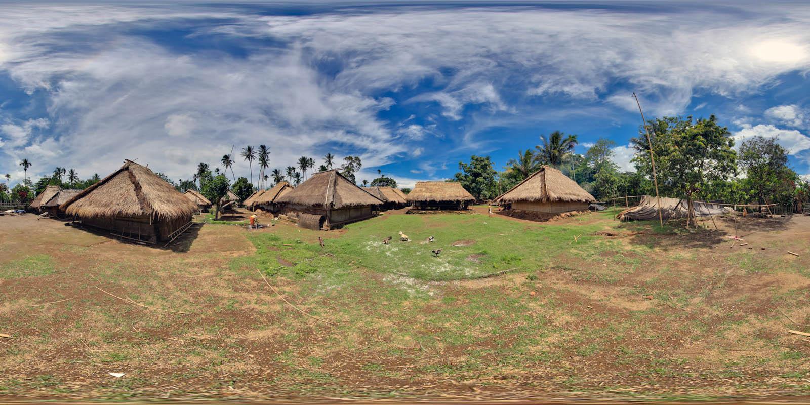 218 Liburan Akhir Pekan Desa Wisata Senaru Lombok Utara Kab