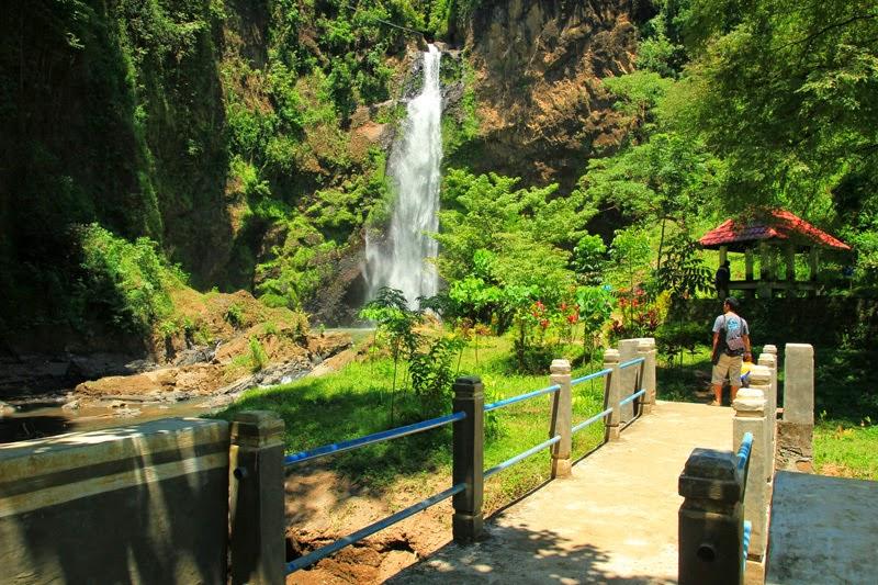 218 Panorama Alam Air Terjun Tiu Pupus Lombok Utara Wisata