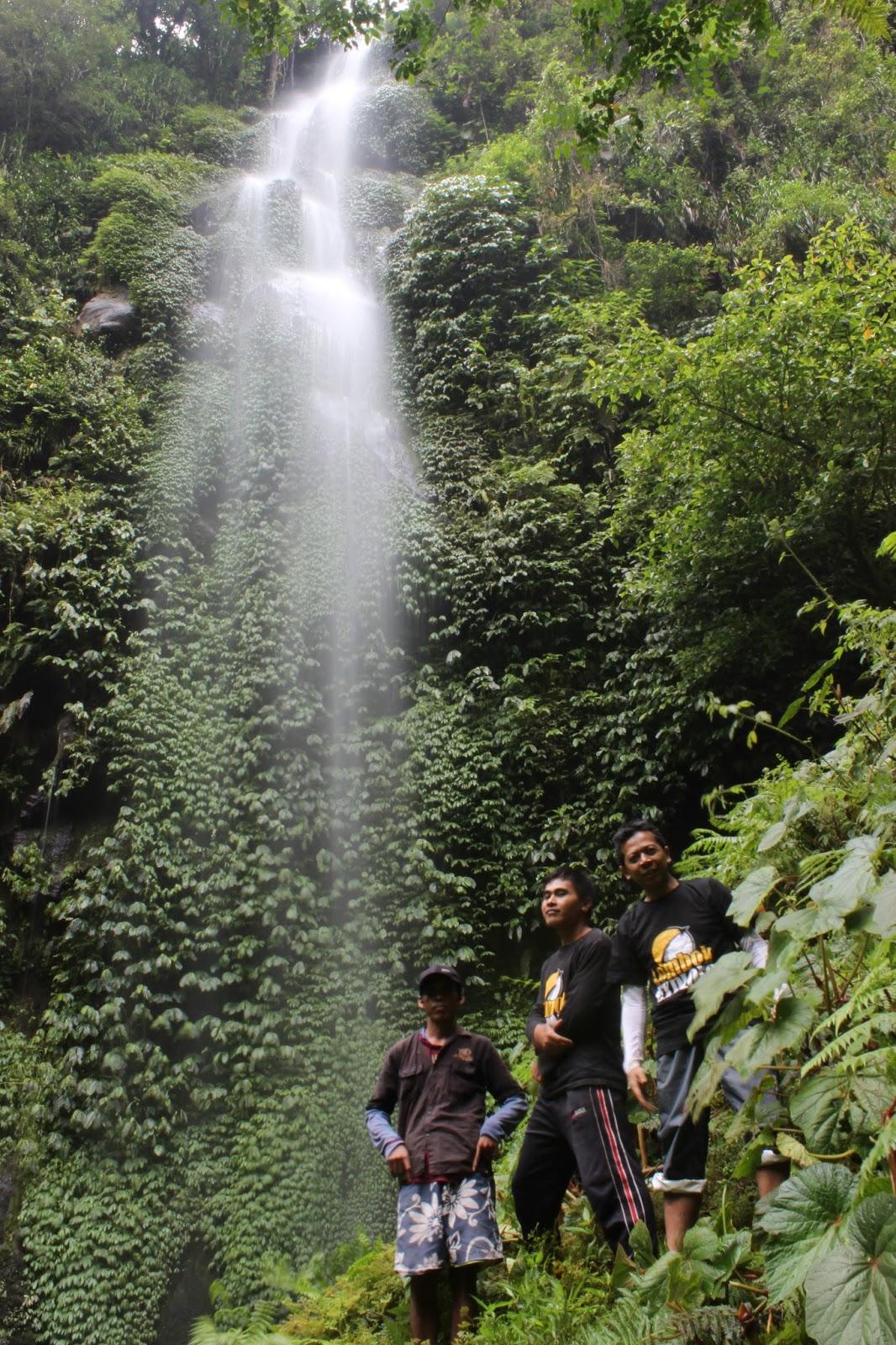 Air Terjun Menanga Lebari Gaib Rongkas Wisata Berlokasi Desa Santong