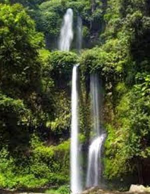 Air Terjun Senaru Lombok Utara Duta Keindahan Eksotisme Pulau Semakin
