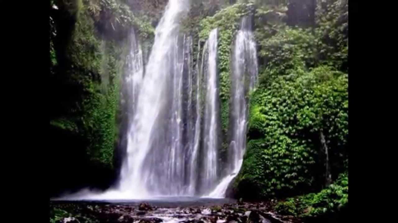 Air Terjun Sendang Gile Nusa Tenggara Barat Tempat Wisata Indonesia