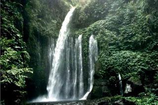 Air Terjun Sendang Gile Wisata Lombok Tengah Cyber4rt Desa Senaru