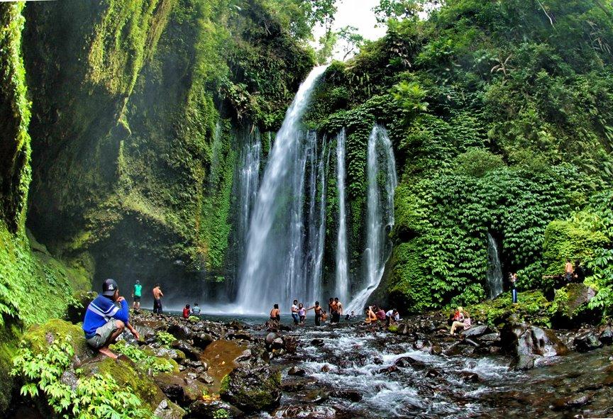 Air Terjun Tiu Kelep Kabupaten Lombok Utara 7og4nk Desa Wisata