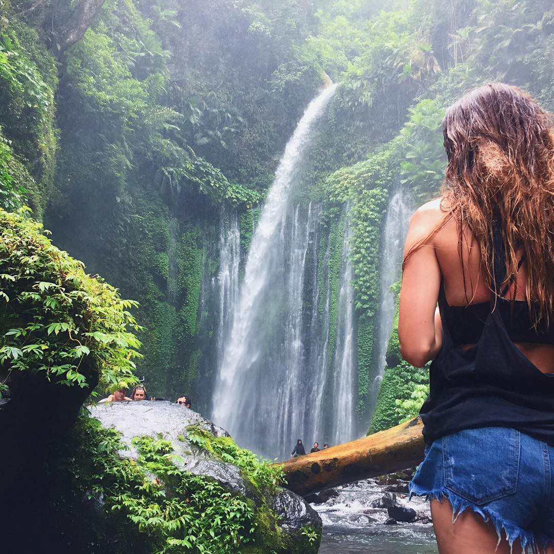 Jelajahi Sisi Lain Wisata Lombok Yuk 10 Air Terjun Desa