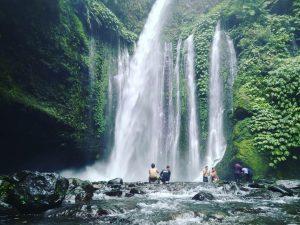 Keindahan Air Terjun Tiu Kelep Lombok Traveler Santai Terletak Desa