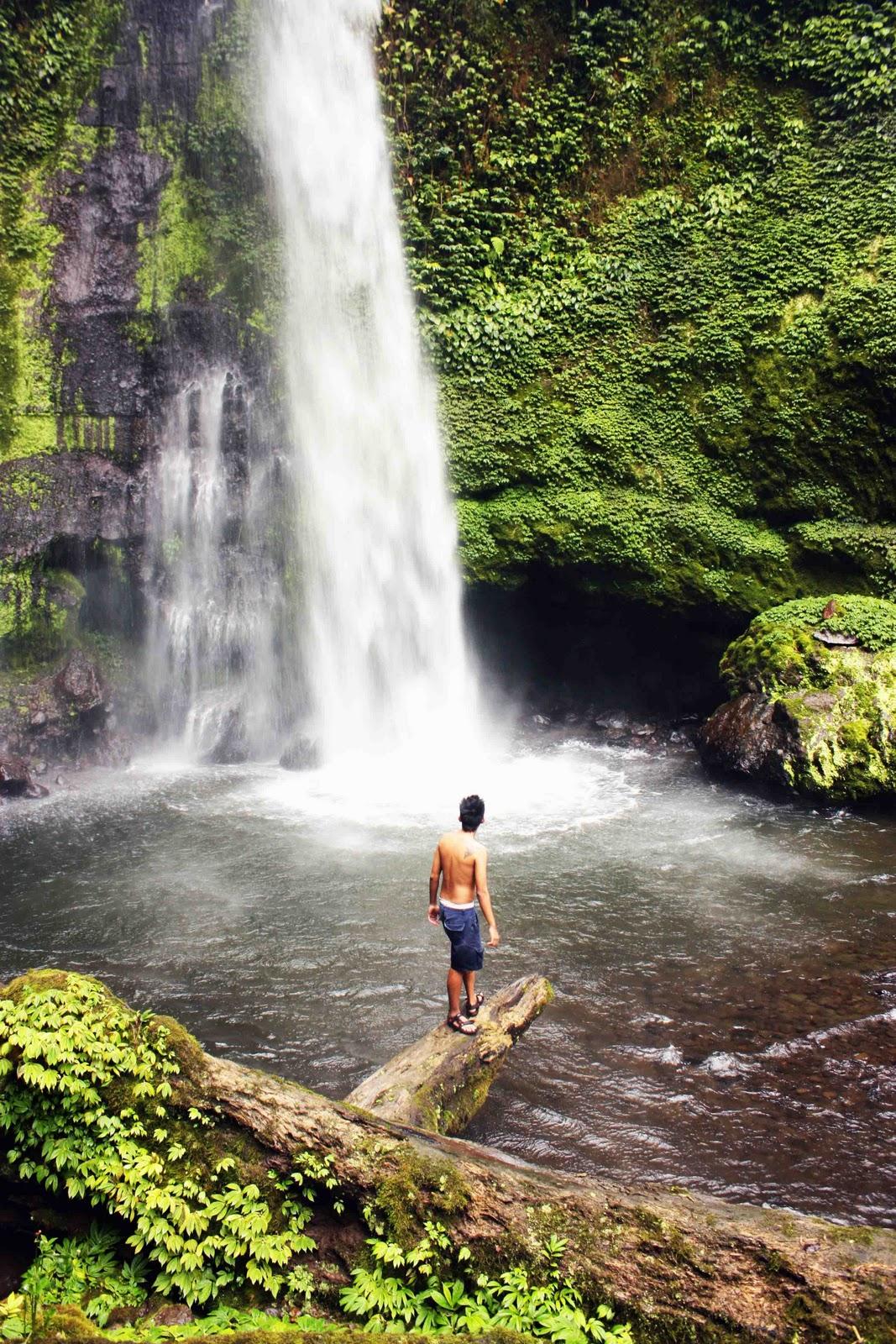 Pesona 9 Air Terjun Lombok Wisata Desa Senaru Kab Utara