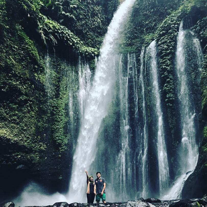 Sendang Gile Tiu Kelep Waterfall Warna Lombok Tour 62 0818