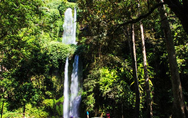 Sindang Gile Tiu Kelep Waterfalls Rinjani Transport Waterfall Desa Wisata