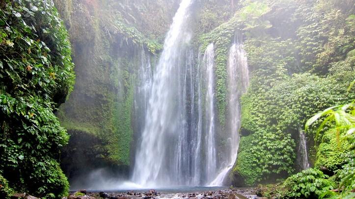 Wisata Air Terjun Lombok Utara Paket Senaru Timur Desa Kab