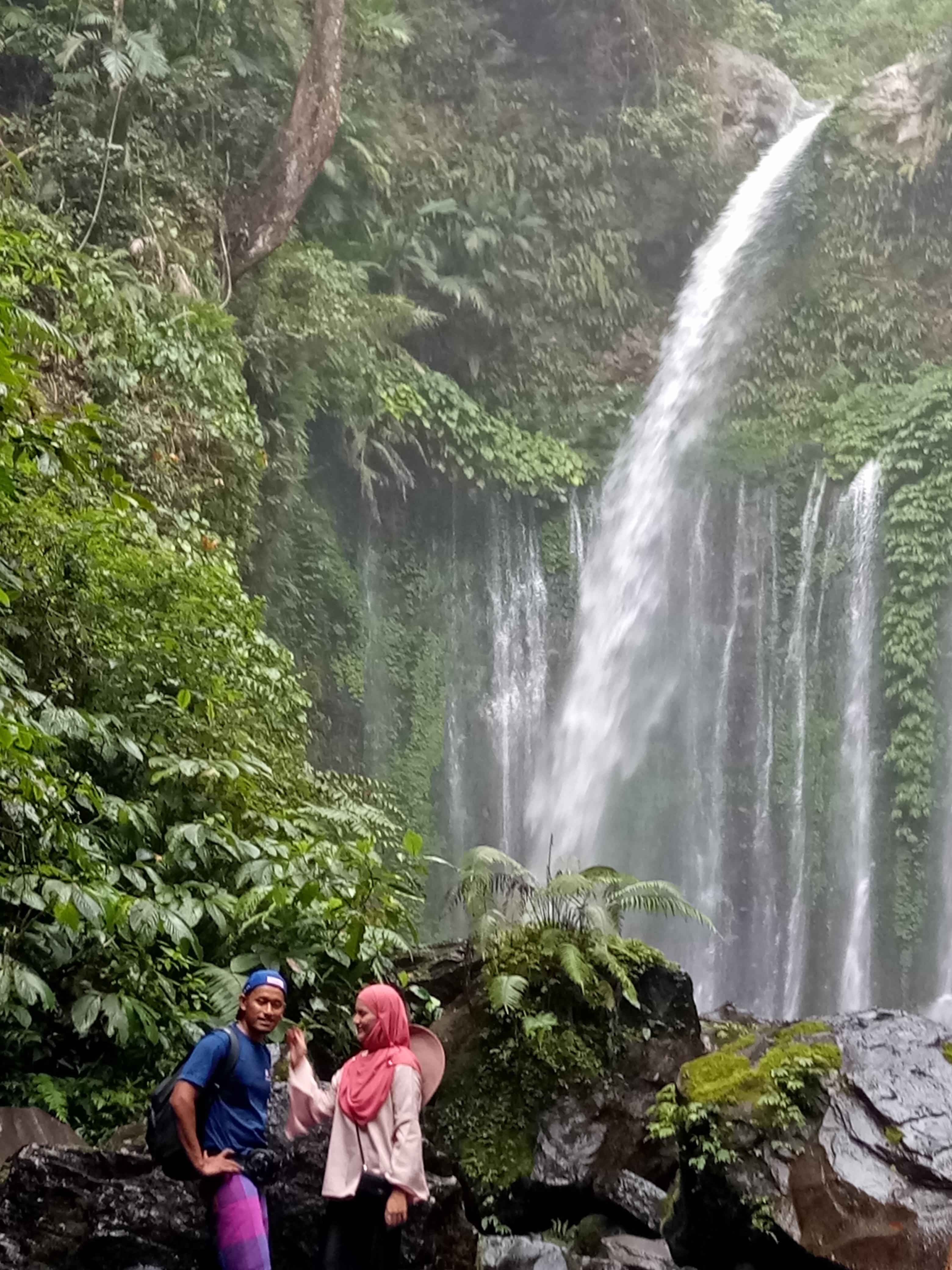 Wisata Air Terjun Senaru Paket Lombok Pintu Masuk Pendakian Menuju