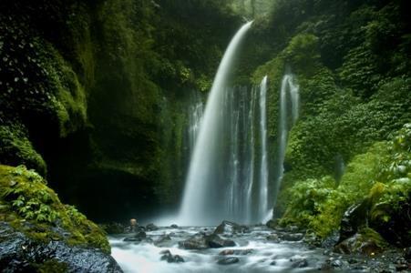 Wisata Air Terjun Tiu Kelep Senaru Radio Lombok Fm Melihat