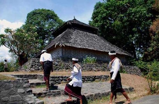 Wisata Sejarah Masjid Bayan Beleq Lombok Indahnya Kab Utara