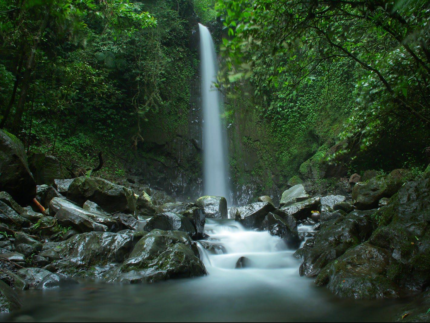 Air Terjun Titian Batu Kawangan Lombok Tengah Pantai Lokok Piko