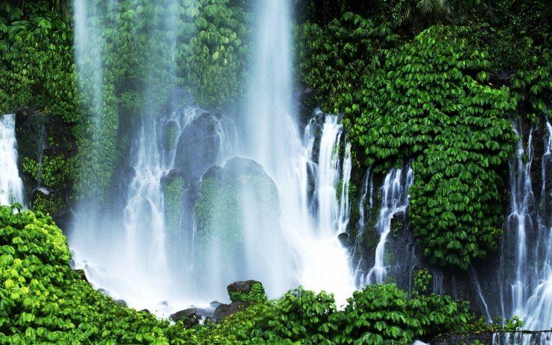 Destinasi Wisata Lombok Utara Samsul Rizal Abdi Air Terjun Sendang