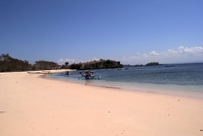 Gili Nanggu Pantai Pink Lombok Lokok Piko Kab Utara