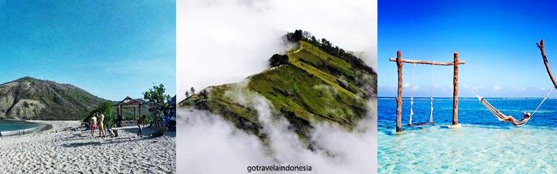 Harga Tiket Objek Wisata Lombok Htm Tempat Destinasi Utara Pantai