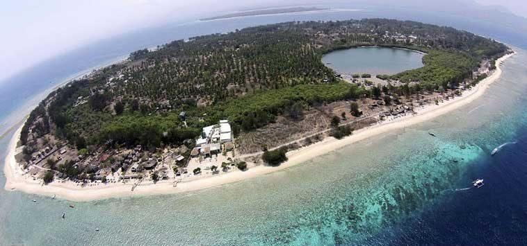 Informasi Tempat Wisata Lombok Sumbawa Gili Meno Mendapat Nominasi Pantai