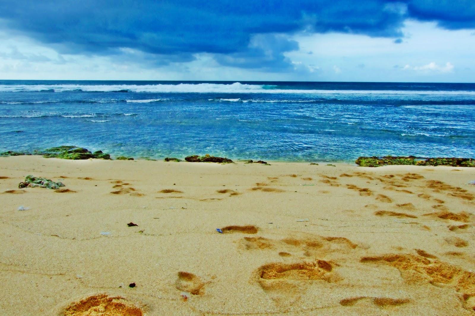 Pantai Matahari Carita Salah Satu Pesisir Utara Banten Terasa Pas