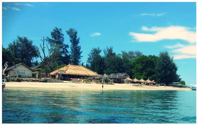 Tempat Wisata Lombok Utara Menakjubkan Gammafis Blog Gili Air Pantai