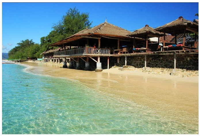 Tempat Wisata Lombok Utara Menakjubkan Gammafis Blog Gili Meno Pantai