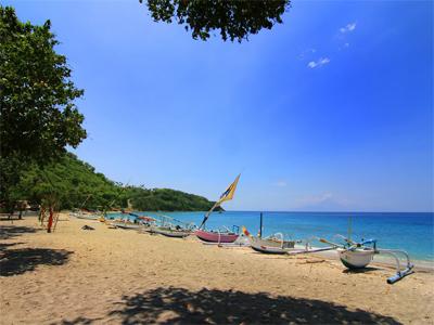 10 Foto Pantai Teluk Nipah Lombok Utara Ikan Bakar Homestay