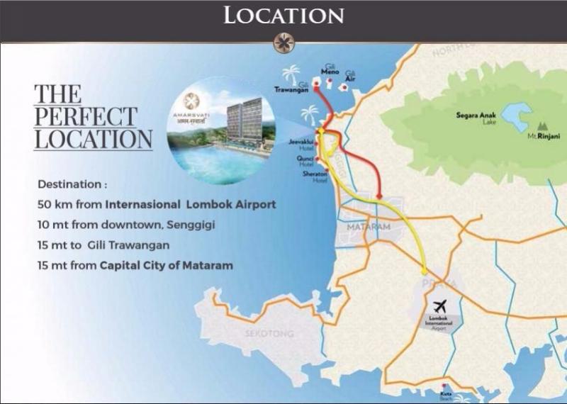 Amarsvati Condotel Lombok Garansi Roi 16 Pantai Malimbu 80349239 Kab