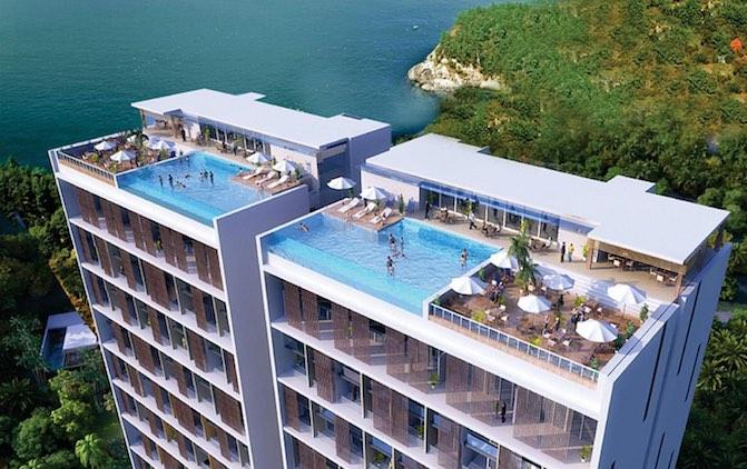 Amarsvati Luxury Resort Condotel Villas Malimbu Lombok Rooftop Pantai Kab