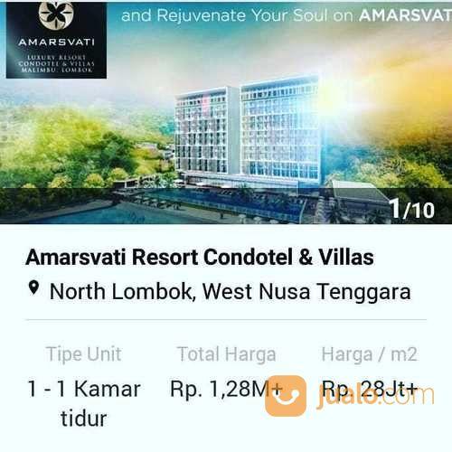 Lombok Utara Dijual Waa2 Condotell Pantai Malimbu Kab