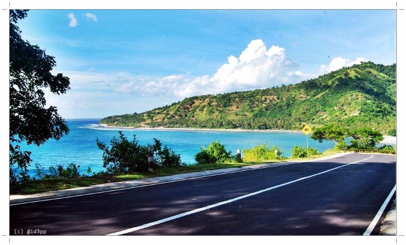 Pantai Pandanan Lombok Utara Bikin Hati Senang Perut Kenyang Datang
