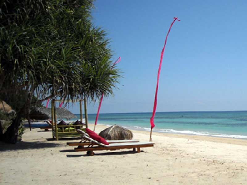 Pantai Sire Lombok Pesona Kabupaten Utara Malimbu Kab