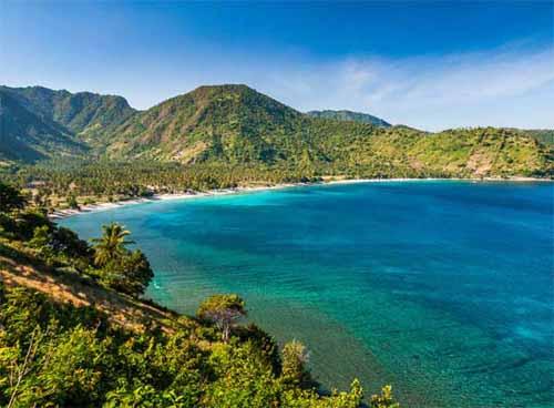 Puncak Malimbu Lombok Click Enlarge Image Lombok1 Jpg Pantai Kab