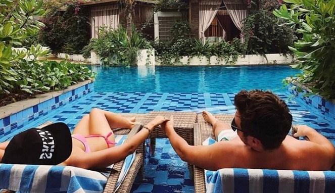 Tempat Wisata Lombok Romantis Traveling Yuk Pantai Malimbu Kab Utara