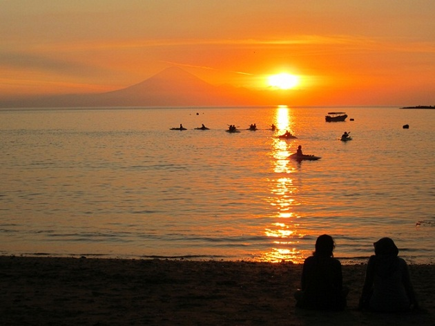 Wisata Budaya Lombok Utara Menikmati Sunset Bukit Malimbu Pantai Kab