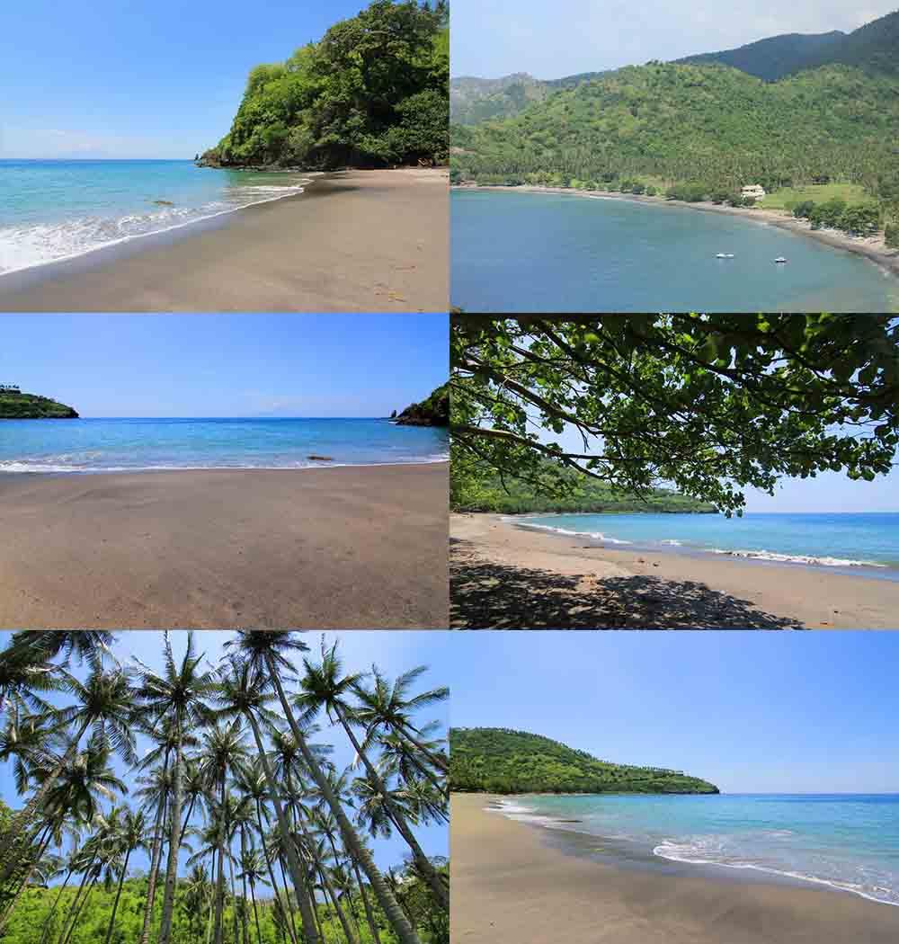 Wisata Pantai Malimbu Lombok Utara Ntb Kamera Budaya Memasuki Kawasan