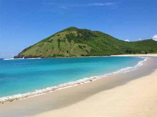 Pantai Mawun Lombok Sire Medana Kab Utara