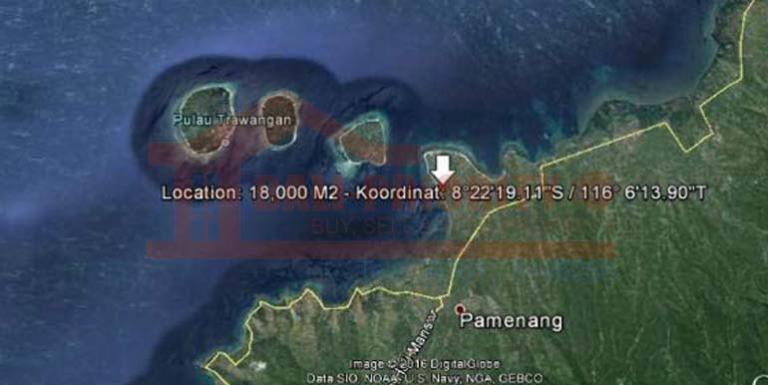 Tanah Dijual 1 8 Ha Pantai Sire Lombok Utara Medana