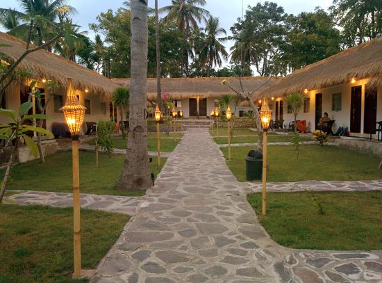 Courtyard Picture Grand Sunset Gili Air Tripadvisor Pulau Kab Lombok