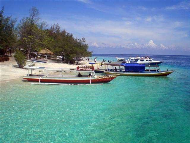 Gili Trawangan Pulau Indah Lombok Info Lengkap Tempat Air Kab