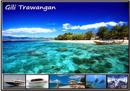 Gili Trawangan Pulau Lambok Kabupaten Lombok Utara Tourism Memiliki Luas
