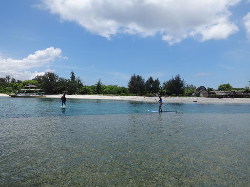 Gili Trawangan Standup Paddleboarding Spot Lombok Indonesia Paddle Board Pulau