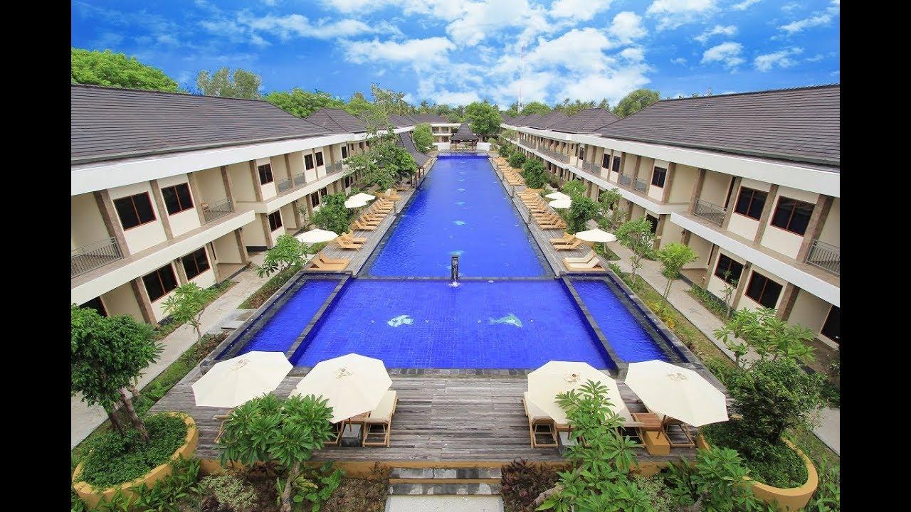 Hotel Ombak Paradise Gili Air Lombok Utara Ntb Youtube Pulau
