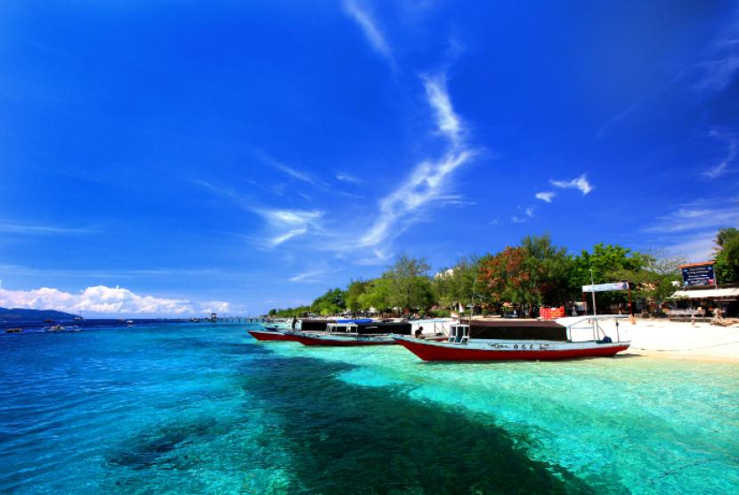 Kondusivitas Lombok Utara Sebagai Destinasi Wisata Terjaga Keindahan Pantai Gili