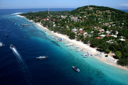 Lombokutara Gili Trawangan Lombok Utara Pulau Air Kab