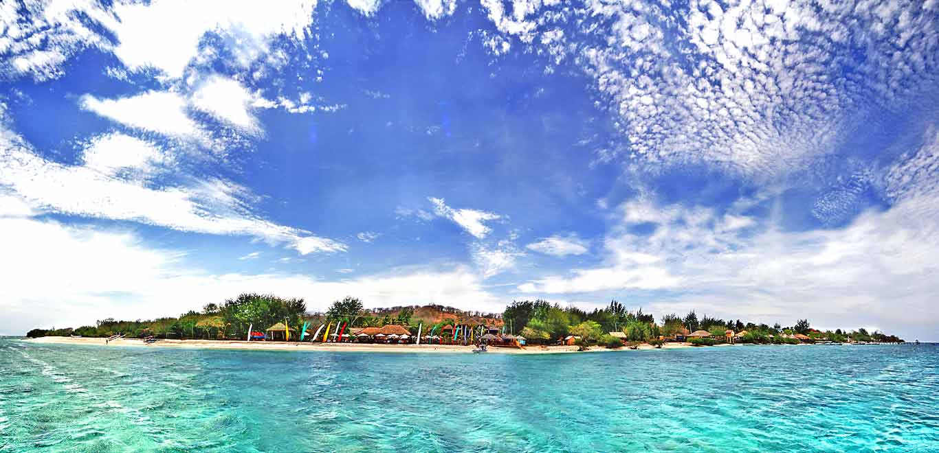 Pearl Trawangan Gili Lombok Indonesia Island Pulau Air Kab Utara