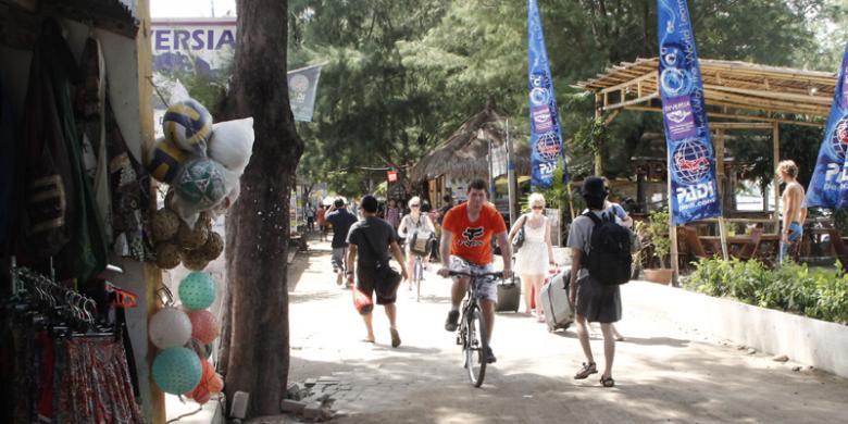 Tips Menuju Gili Trawangan Kompas Lombok Utara Nusa Tenggara Barat