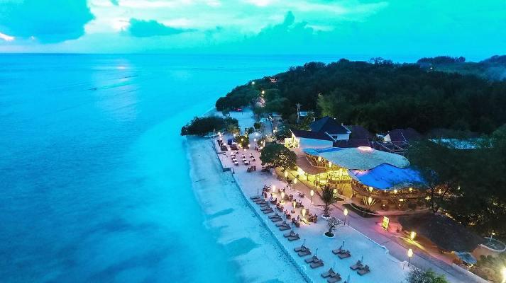 Keindahan Gili Trawangan Lombok Utara Tiada Duanya Dunia Malam Pulau